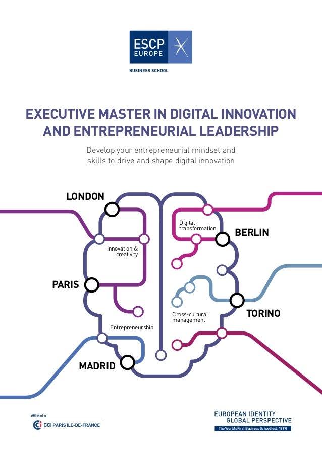 Master thesis on entrepreneurship