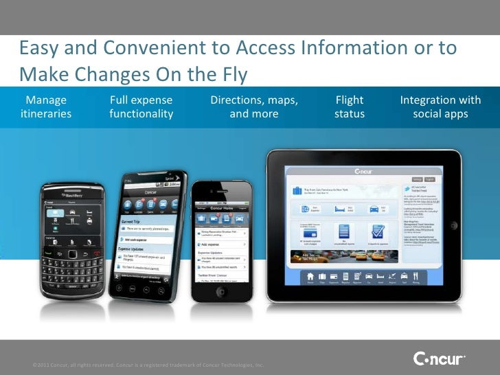 Concur - A Better Way to Manage T&