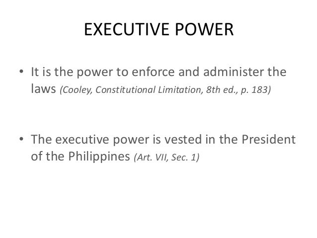 Executive Article Definition