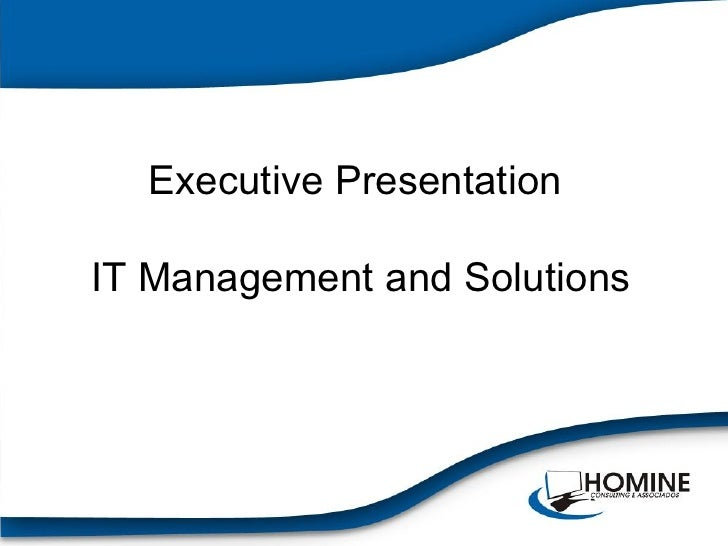qrb501 powerpoint presentation executive management Create a 25- to 35-slide microsoft® powerpoint® presentation with speaker notes to present the strategic plan, combining all relevant elements from previous weeks the objective is to sell the strategic plan to investors or company directors.