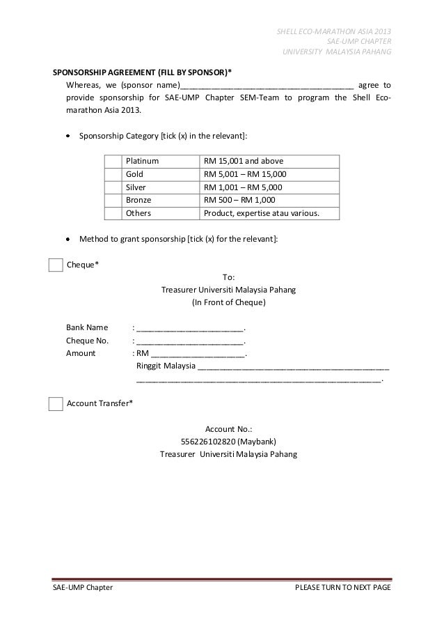 Race Car Sponsorship Contract Template Examples – Race Car Sponsorship Contract