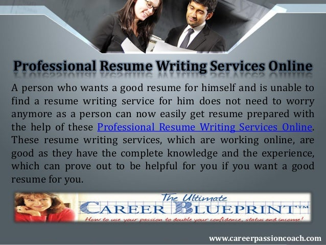 Executive Resume Writing Service resume writing service executive resume writer Executive Resume Writing Services Wwwcareerpassioncoachcom 4