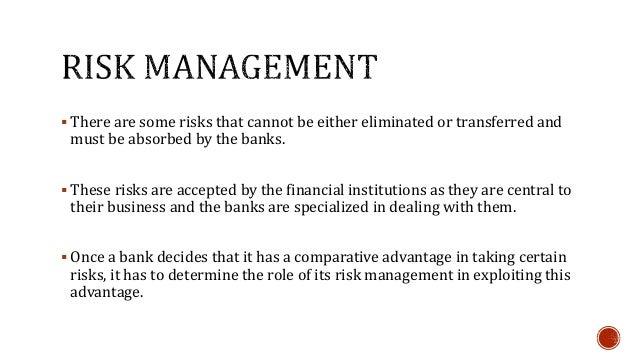 Executive Summary Risk Management