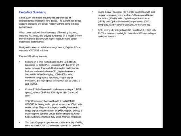 executive summary v introduction
