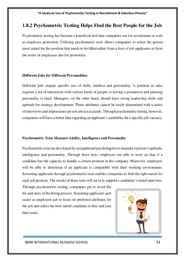executive summary for recruitment and selection Executive summary: the assignment is prepared to explain the process of  recruitment & selection which involves identifying and attracting.