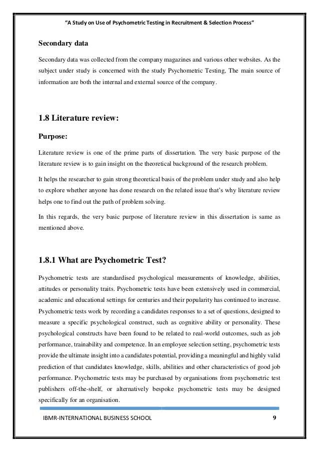 an overview of the psychometric tests in the corporate use Psychometric testing today is employed in a wide variety of setting, from educational to industrial organizations, for a diverse range of purposes.