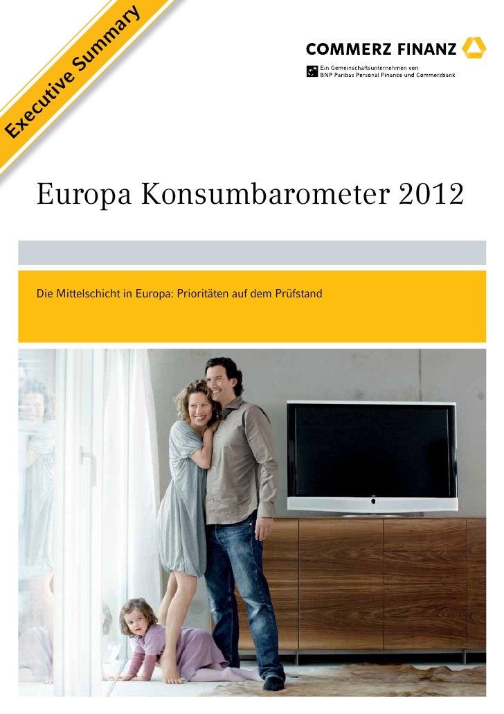 y                 ar              m            m         Su      e    iv    ut  ecEx    Europa Konsumbarometer 2012    Die...
