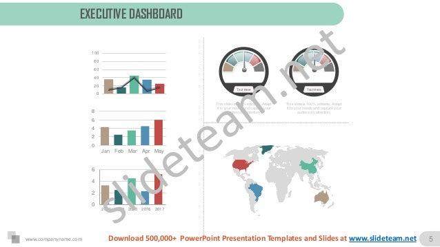 executive summary overview for meeting slides ppt, Presentation templates