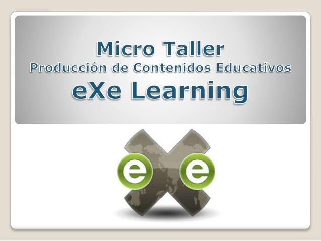  Es una herramienta de autor de código abierto  Sirve para la elaboración de contenidos educativos multimedia en HTML o ...