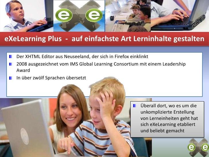 E Xe Leraning Plus 100327  K O E  V1 Slide 3