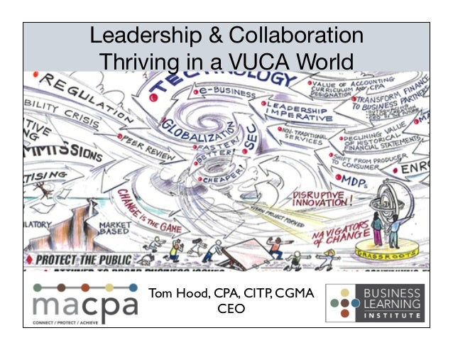 Tom Hood, CPA, CITP, CGMA CEO Leadership & Collaboration Thriving in a VUCA World