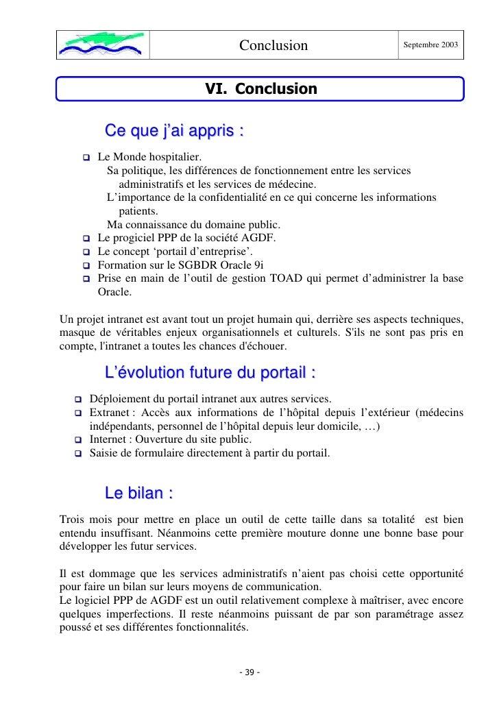 Exemple rapport for Rapport de stage en cuisine exemple