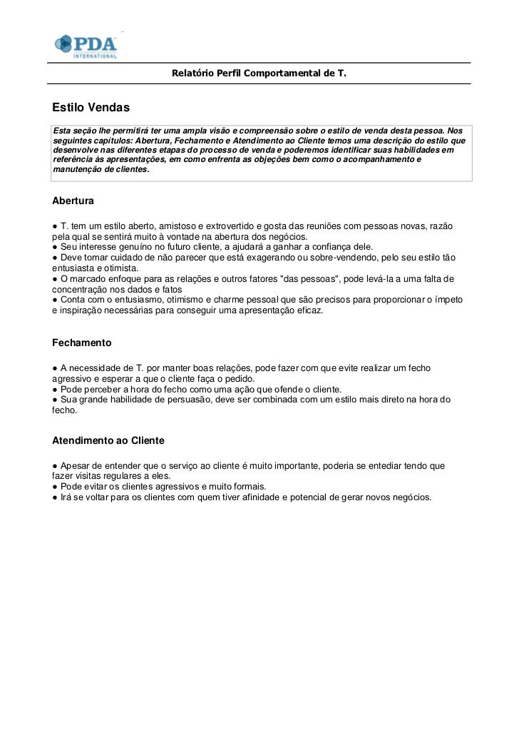 Exemplo de relatorio social
