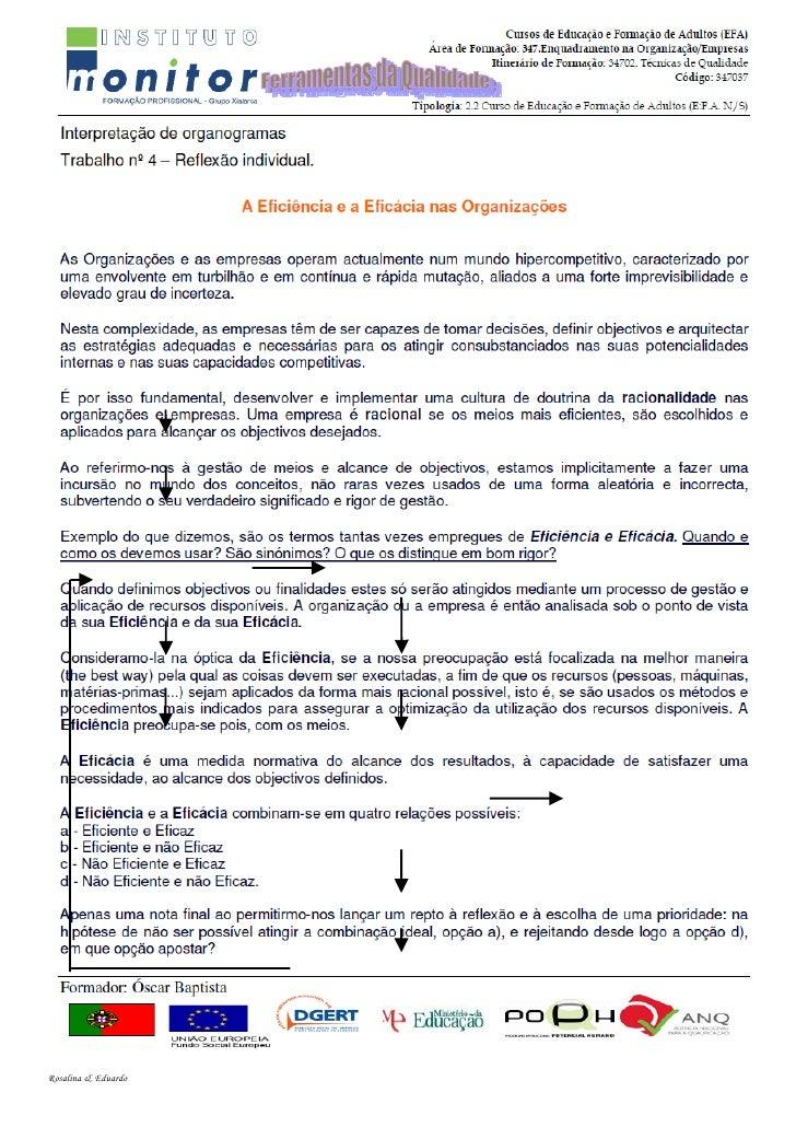 Exercício 2 - Fluxograma Formador: Joaquim Dias                         Leia o texto abaixo e desenhe um fluxograma dessa ...