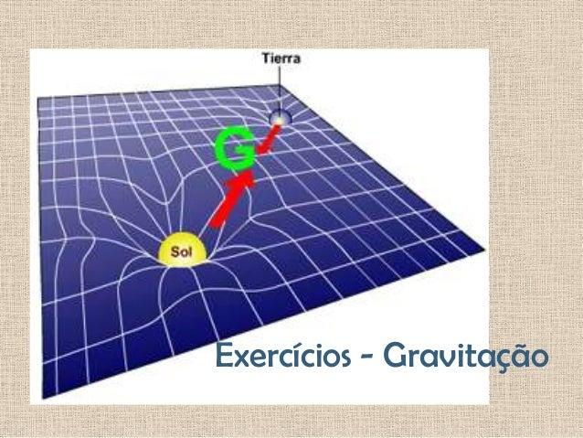 Exercícios - Gravitação