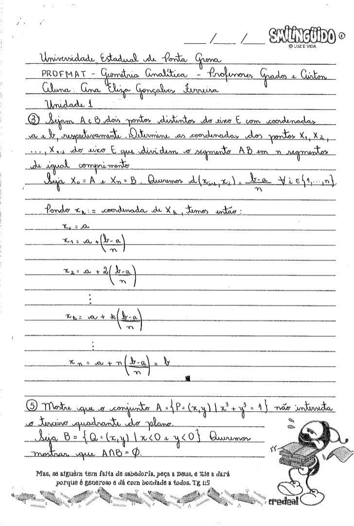 Exercícios ma23   und 1 a 8