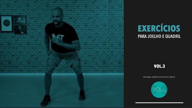 Exercícios para joelho e quadril