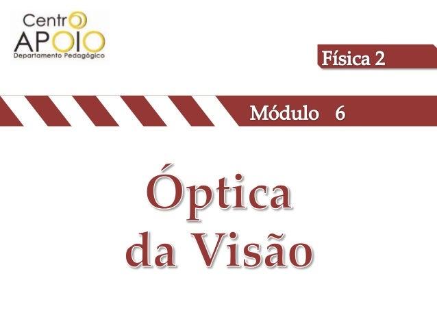 (UFF) Algumas escolas estão exigindo avaliação oftalmológica como item de matrícula, objetivando evitar problemas com o ap...