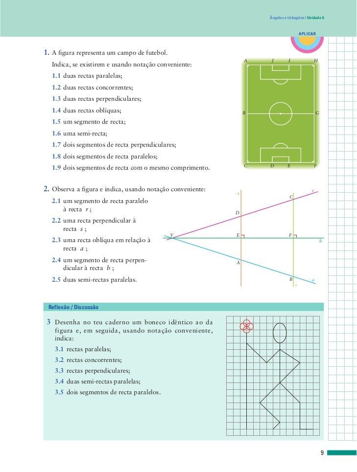 Exercícios sobre angulos; rectas... Slide 2