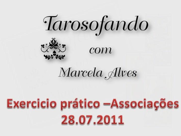 Exercicio prático –Associações<br />28.07.2011<br />