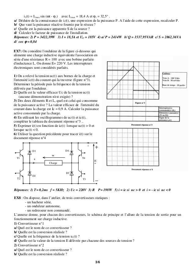 LES REDRESSEURS EXERCICES CORRIGS PDF