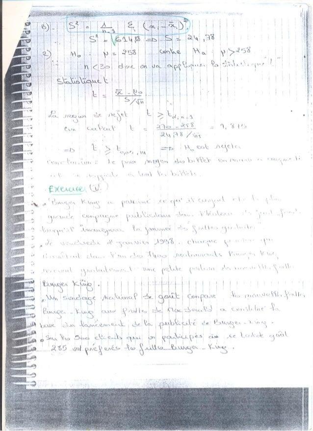 Exercices 3 test d'hypothése (prise de notes Slide 2