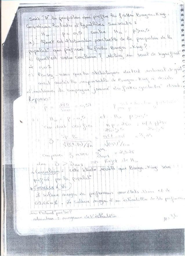 Exercices 3 test d'hypothése (prise de notes Slide 3