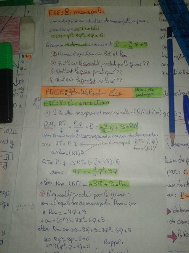 Exercices corrige monopol s2 micro [learneconomie.blogspot.com]