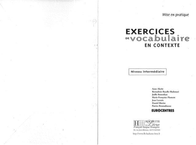 Exercices De Grammaire En Contexte Pdf