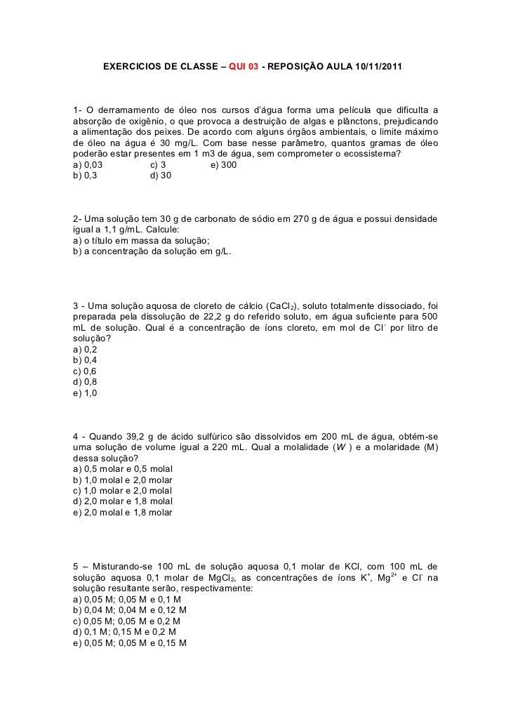 Exercicios de classe 10nov2011