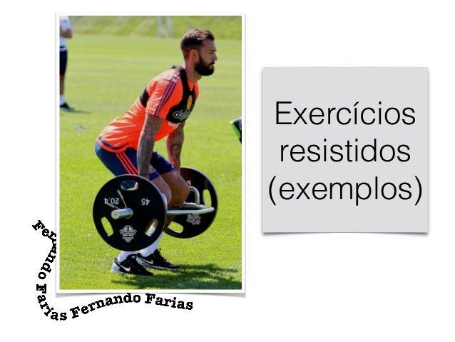 Exercícios resistidos (exemplos)