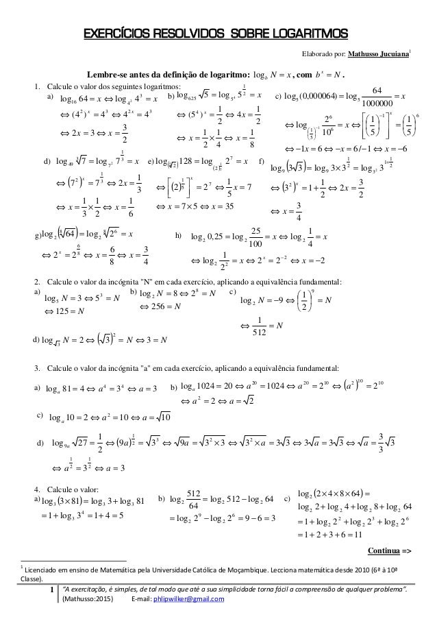 """1 """"A exercitação, é simples, de tal modo que até a sua simplicidade torna fácil a compreensão de qualquer problema"""". (Math..."""