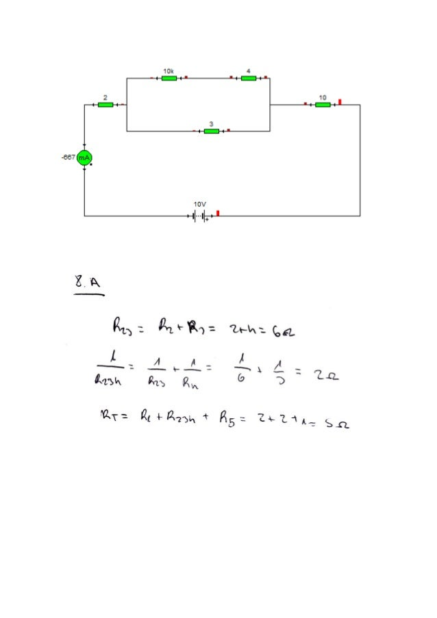 Exercicis circuits mixtes