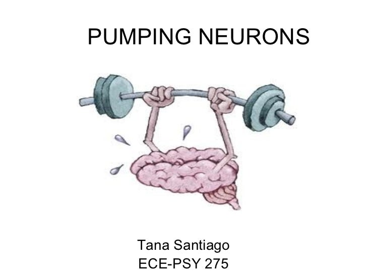 PUMPING NEURONS   Tana Santiago   ECE-PSY 275