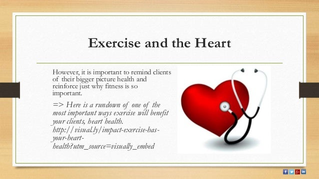 exercise and heart Your heart is the center of your cardiovascular system it is involved in many of the daily functions that bring your body to life so having a healthy heart is vital to your overall health two of the simplest yet most important ways to help your heart health are through diet and exercise the .