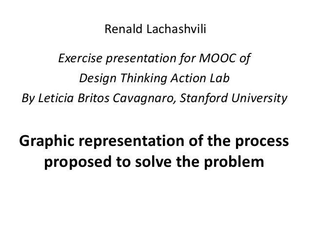 Renald Lachashvili Exercise presentation for MOOC of Design Thinking Action Lab By Leticia Britos Cavagnaro, Stanford Univ...