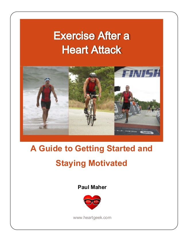 exercise after a heart attack   a guide to getting started