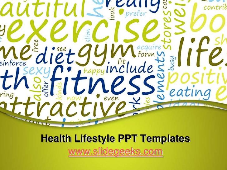 Health Lifestyle PPT Templates