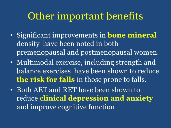 Other important benefits<br />Significant improvements in bone mineral density  have been noted in both premenopausal and ...