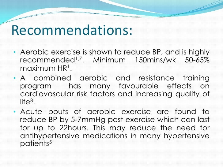 benefits of exercise on hypertension Pulmonary arterial hypertension is often associated with skeletal-muscle weakness the purpose of this randomized controlled trial was to determine the effects of an.