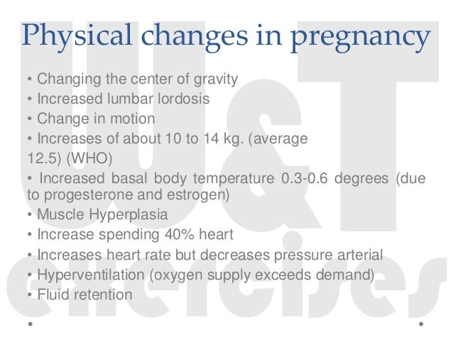 Training and Pregnancy (III): Physical Changes and Exercise in The Second Quarter
