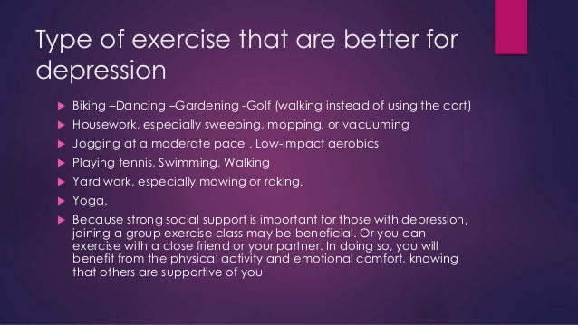 Image result for depression exercise