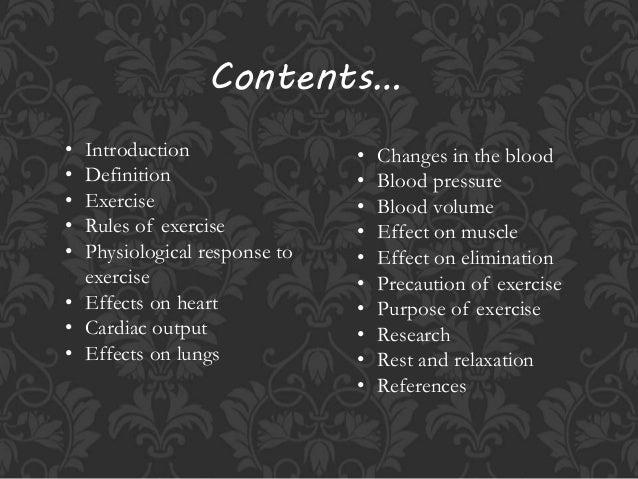 Exercise physiology Slide 2