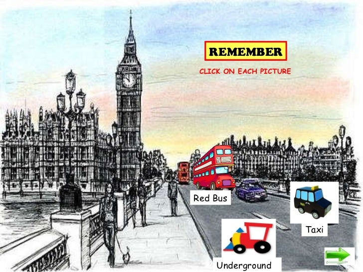 Underground Red Bus Taxi REMEMBER CLICK ON EACH PICTURE
