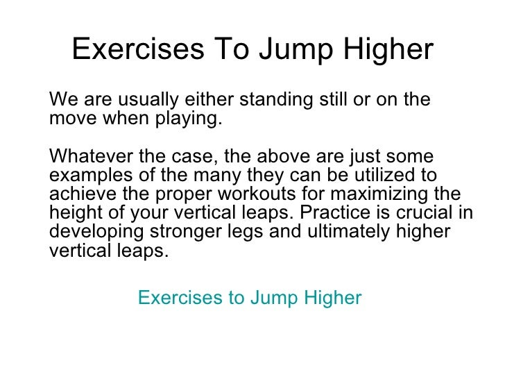 how to jump higher exercises for basketball