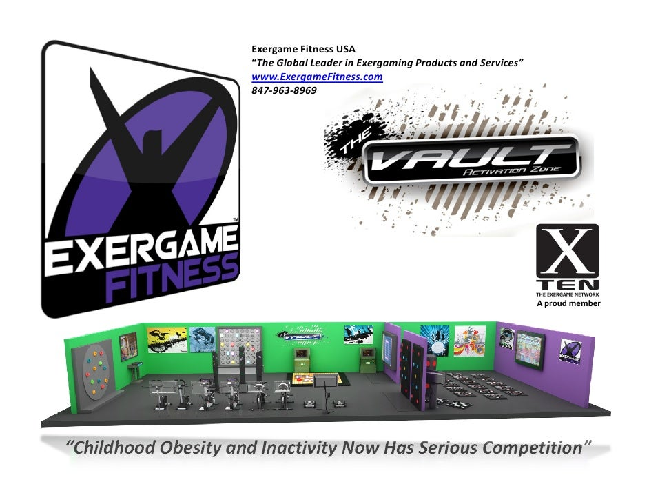 "Exergame Fitness USA                       ""The Global Leader in Exergaming Products and Services""                       w..."