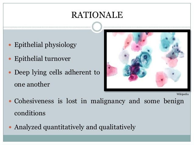 A new approach to exfoliative cytology: A comparative ...