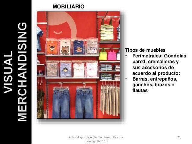 Exhibiciones 2014 visual merchandising pautas para for Definicion de mobiliario