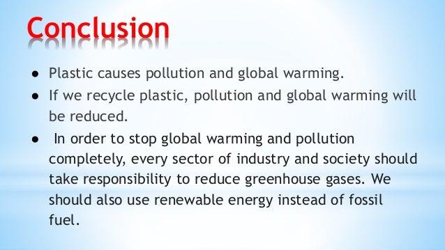 plastic Conclusion