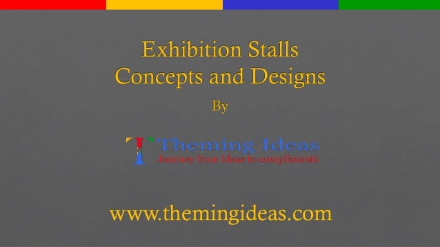 Exhibition Stall Presentation : Exhibition stall design concepts by theming ideas